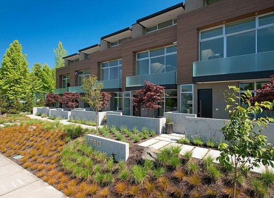 Дома у озера Вашингтон (Lake Washington Homes) в Сиэтле от Pb Elemental Architecture