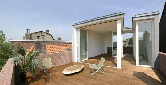 Кровельный павильон в Голландии от Hoogte Twee Architecten