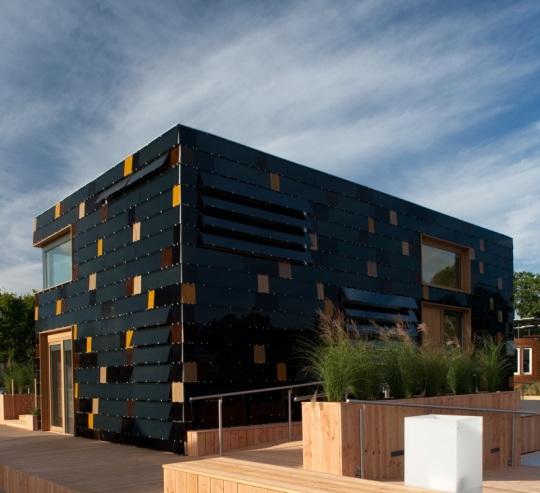 Солнечные дома построены