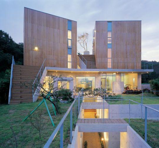 Хе Ро Хун Дом (Hye Ro Hun House) в Южной Корее от IROJE KHM Architects