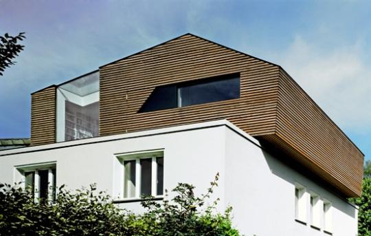 Лофт «Л» (Loft L in Aachen) в Германии от kadawittfeldarchitektur