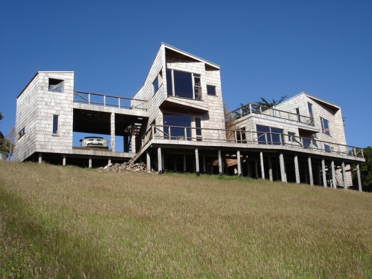 Мягкий дом (Muelle house) в Чили от Jon?s Retamal T