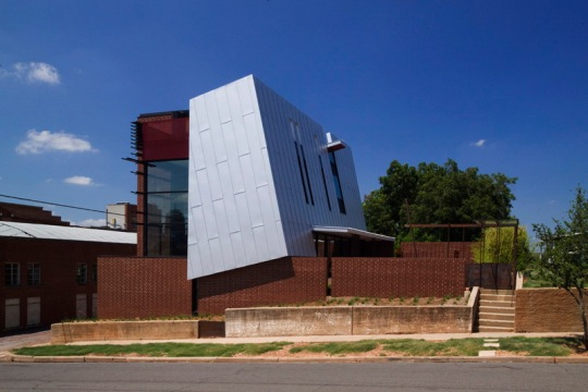 OKasian House в США от Fitzsimmons Architects