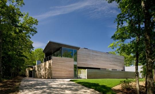 Sagaponac House в США от Smith-Miller and Hawkinson Architecture