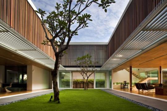 Six Ramsgate Residence в Сингапуре от Wallflower Architecture+Design