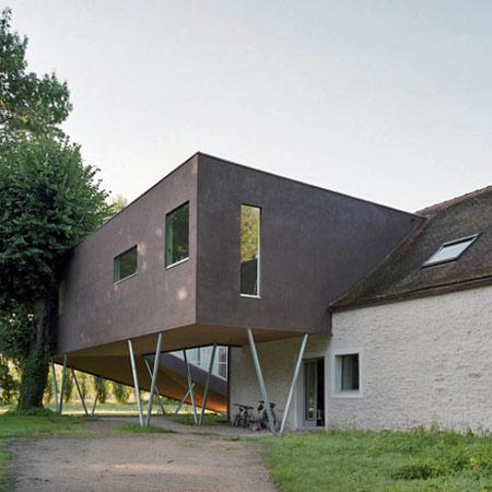 Спиральный дом (Spiral House) во Франции от Powerhouse Company