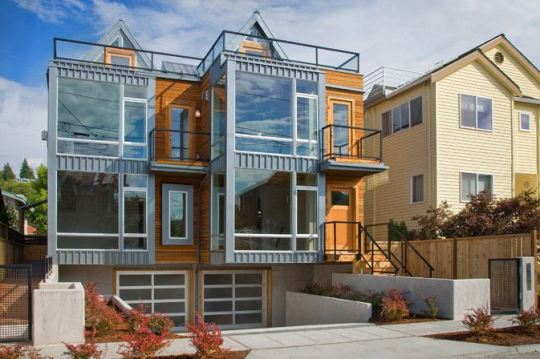 Alki townhomes в США от Johnston Architects