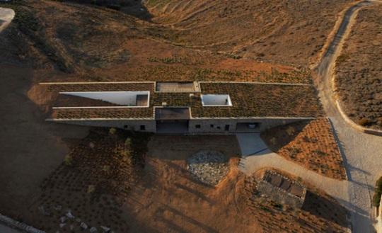Дом «Алони» (Aloni house) в Греции от deca ARCHITECTURE