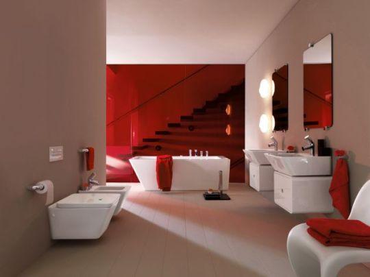 Коллекция интерьеров ванных комнат от Laufen