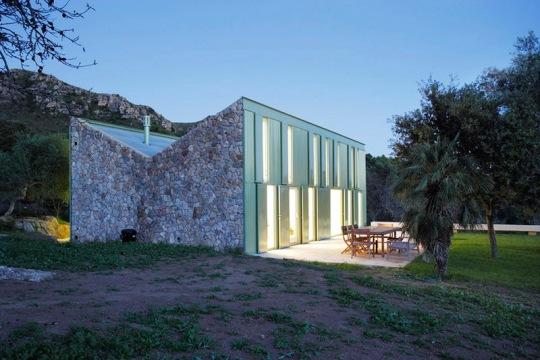 Дом в деревне (Casa en el Campo) в Испании от Juan Herreros Arquitectos
