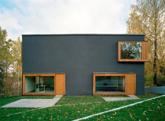 Двойной дом (Double house) в Швеции от Tham & Videg?rd Hansson Arkitekter