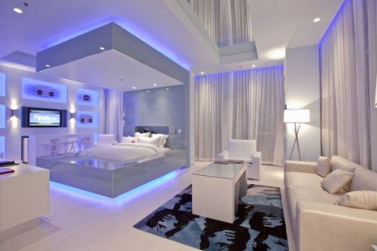 Люкс-апартаменты в Хард-рок отеле в Лас-Вегасе (Hard Rock Hotel Las Vegas)