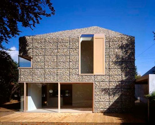 Дом 9х9 (9?9 Haus) в Германии от Titus Bernhard Architekten