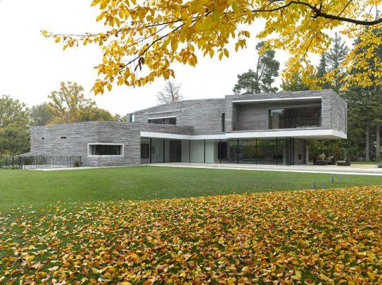 Дом М (House M) в Германии от Titus Bernhard Architekten