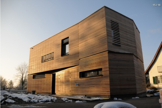 Дом «С.» (Haus S.) в Швейцарии от nimmrichter cda