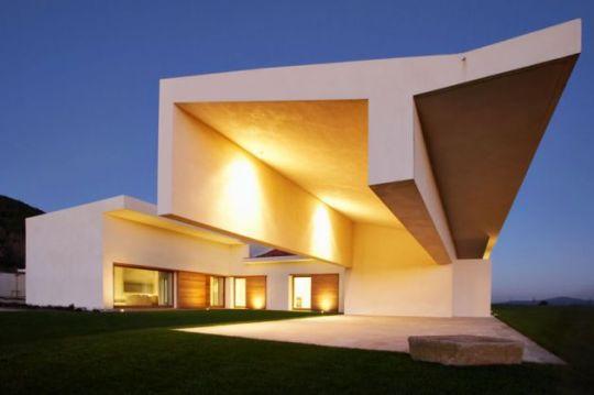 Дом в Авиле (House in Avila) в Испании от A-cero Architects