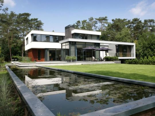 Дом в Бош ен Дуин (House in Bosch En Duin) от Maas Architects