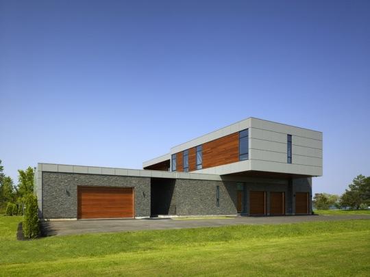 Дом у реки (Riverhouse) в США от ZERAFA STUDIO LLC