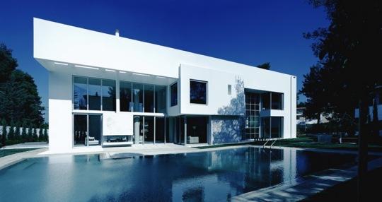 Широко открытая вилла (Wide Open Villa) в Греции от KLab architecture
