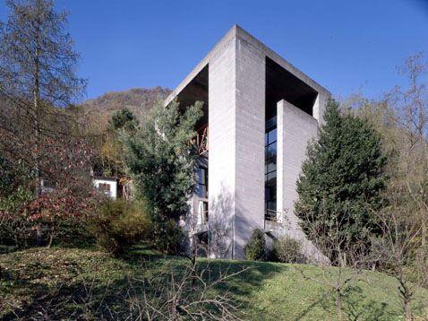 Вилла Бьянчи (Casa Bianchi) в Швейцарии от Марио Ботта