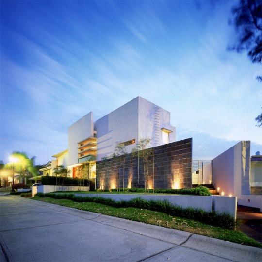 Дом Е (Casa E) в Мексике от Agraz Arquitectos