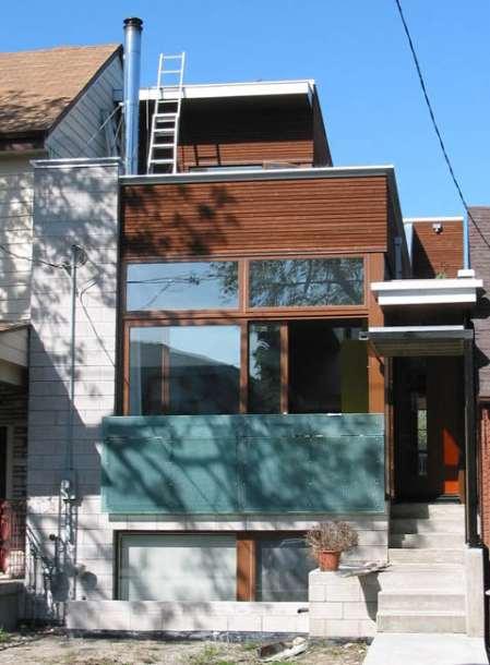Дом на Евклид-авеню (Euclid Avenue House) в Канаде от Levitt Goodman Architects