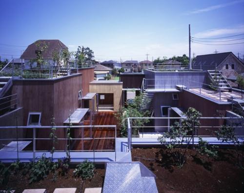 Дом в префектуре Гунма (Gunma House) в Японии от RA Architects