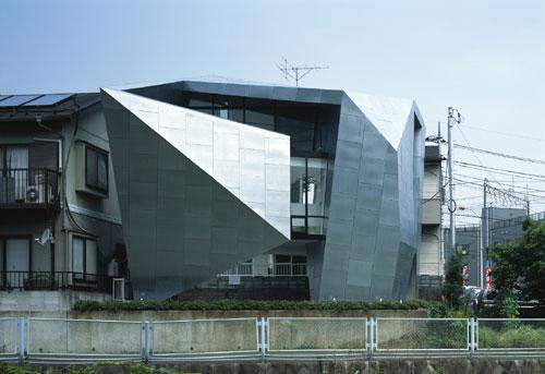 Дом в Вакабадаи (House in Wakabadai) в Японии от Satoshi Okada architects