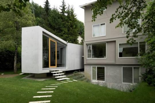 Дом «H» (House H) в Словении от bevk perovi? arhitekti