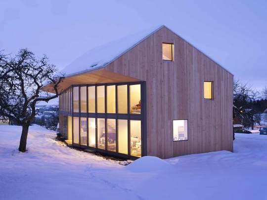 Дом в Мараконе (Maracon Housing) в Швейцарии от Local Architecture