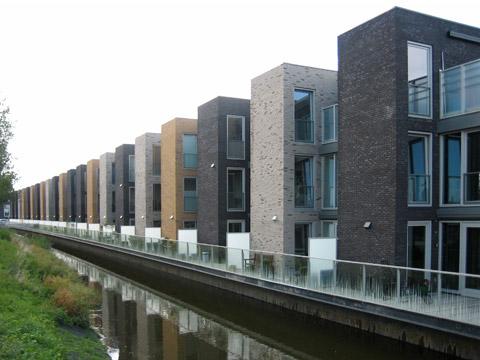 Блокированные дома в Румберге (Blocked Houses in Roomburg) в Голландии от DKV architecten