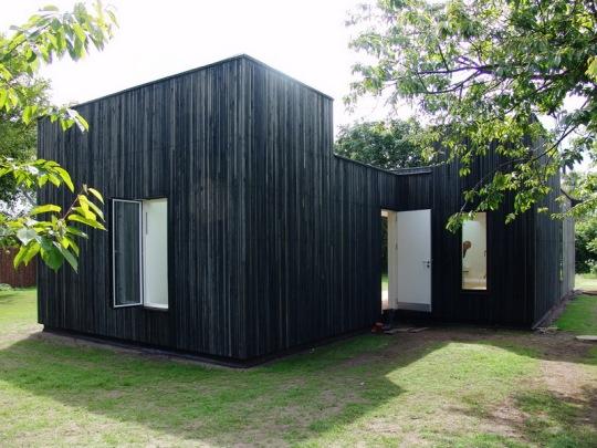 Дом с окнами в небо (Skybox House) в Дании от Primus architects