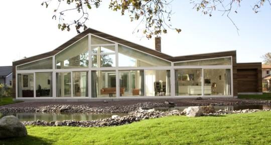 Вилла «BH» (Villa BH) в Голландии от WHIM architecture