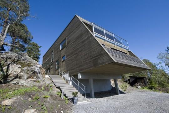 Вилла Д (Villa D) в Швеции от RB Arkitektur