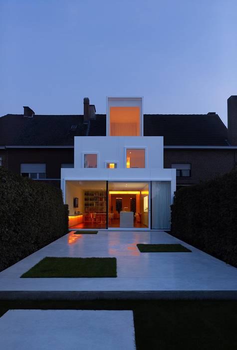 Реконструкция городского дома в Бельгии