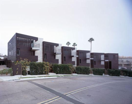 Шесть домов в Калифорнии