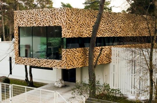 Расширение дома в Эстонии