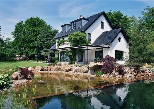 Дом с баней в Голландии