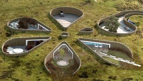 Подземный дом для Гарри Невилла