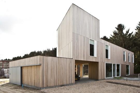 Деревянный дом в Эйндховене