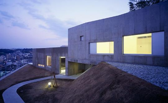 Дом-зигзаг в Японии