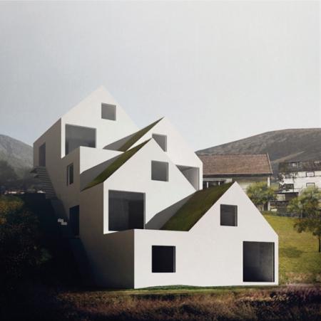 4 дома в Норвегии