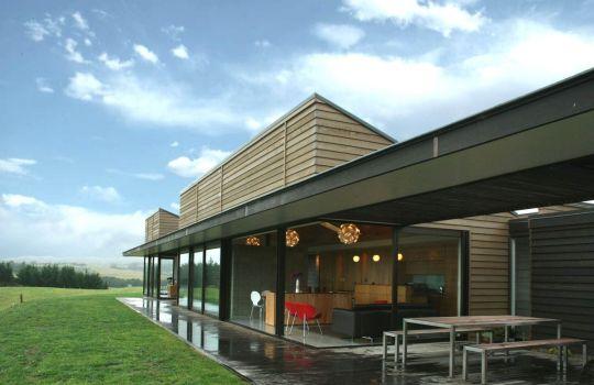Сельский дом в Новой Зеландии